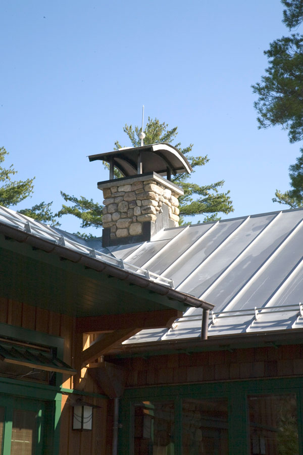 Standing Seam Metal Roof on a residence