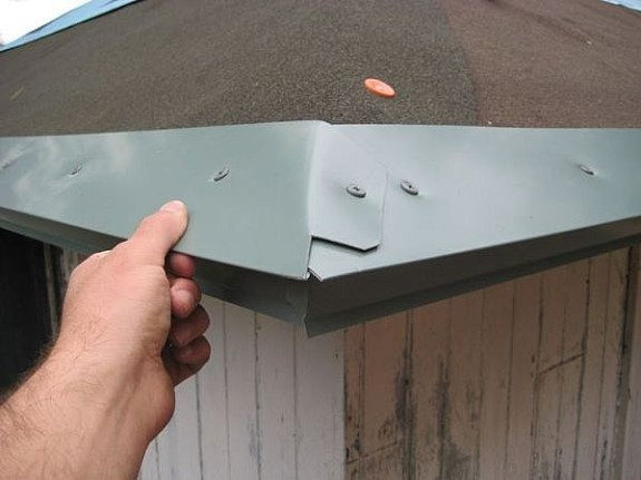 Drip Edge Metal Flashing Installation