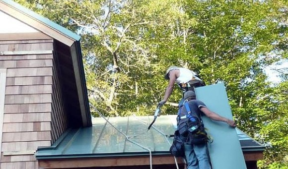 How To Install A Metal Roof Diy Standing Seam Metal Roof